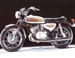 KAWASAKI - A7B AVENGER - TANK & SIDE PANEL - TRANSFERS - 1971 - D57054
